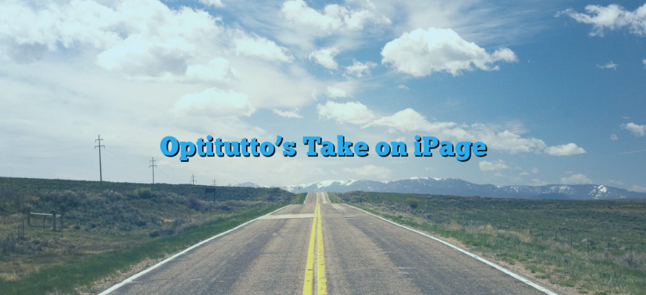 Optitutto's Take on iPage